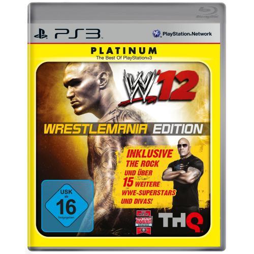 WWE 12 Platinum Wrestlemania Edition für nur 16,99 EUR inkl. Versand!