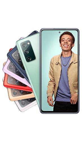 Samsung Galaxy S20 FE 128GB alle Farben für 4,95€ einmalig, 19,99€ monatlich im O2 oder Vodafone Netz