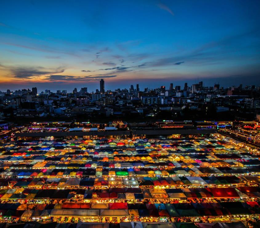 Flüge: Bangkok / Thailand (bis Nov) Hin- und Rückflug mit Gulf Air von Frankfurt für 381€ inkl. Gepäck