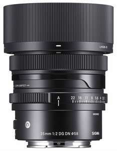 Sigma 35mm F2.0 DG DN Contemporary Objektiv für Sony E-Mount