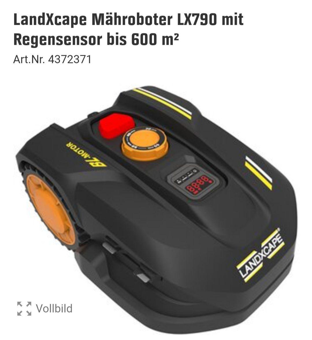 LandXcape Mähroboter LX790 mit Regensensor bis 600 m² Art.Nr. 4372371 OBI Marktabholung