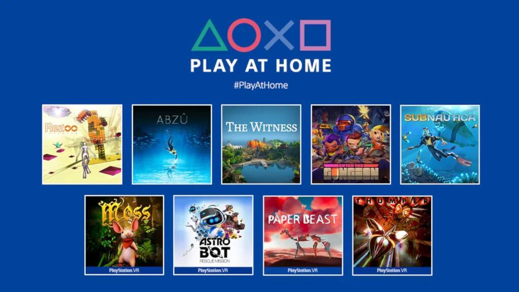 10 Neue Spiele für Play at Home inklusive Horizon Zero Dawn und anderen