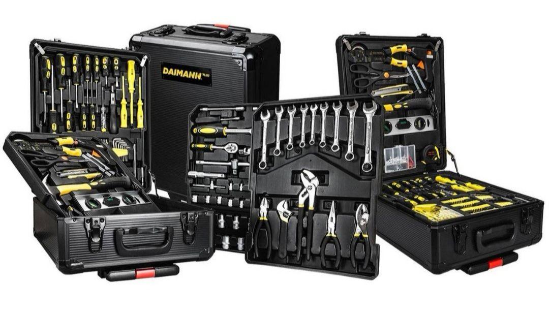 499-tlg. Werkzeug-Set mit Trolley