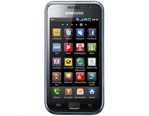 Samsung GT-I9001 Galaxy S Plus schwarz 229,95 € - vk-frei