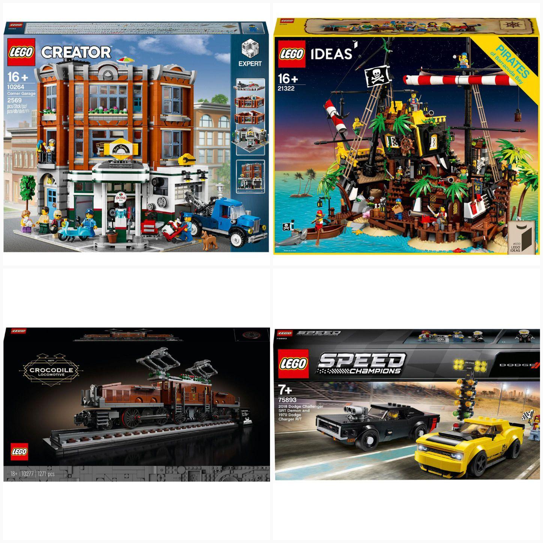 LEGO bei GALERIA mit Code für Kundenkarteninhaber 20 € Rabatt ab 100 € MBW - auch reduzierte Artikel - VSK-frei z.B. 10264 10277 21322 75893