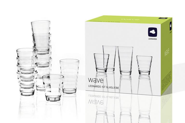Leonardo 48-tlg. Gläserset (24 x 200 ml + 24 x 280 ml) für 24,49€ inkl. Versand Bei Filialabholung nur 20,54€