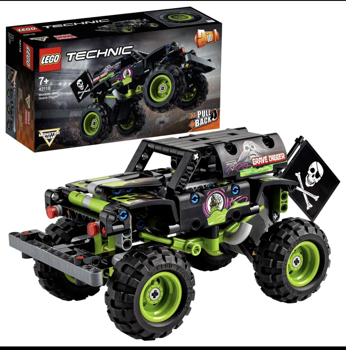 [Amazon] LEGO Technic 42118 - 2 in 1 Monster Jam Grave Digger