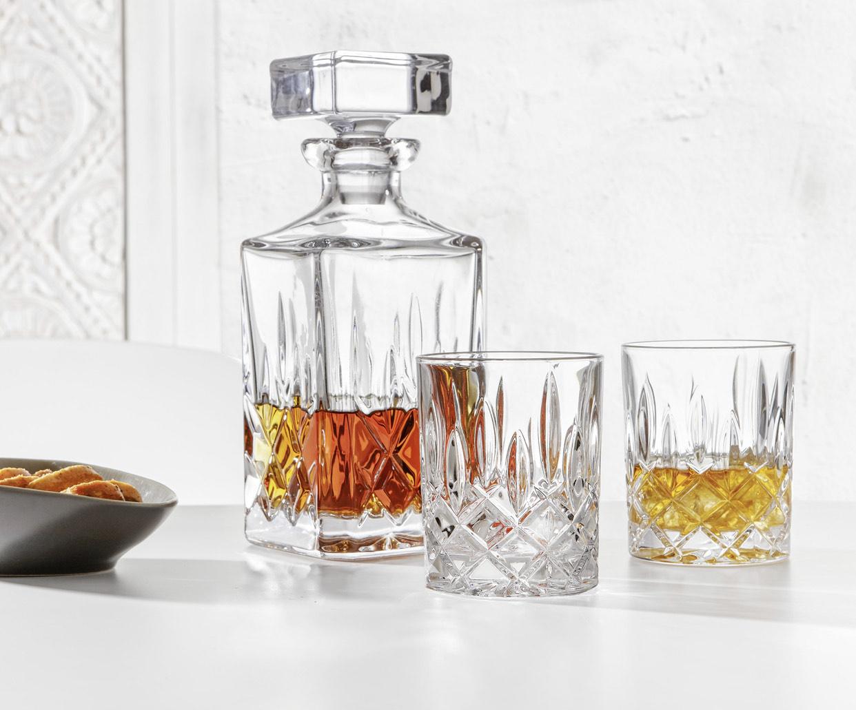 """[XXXLutz] Whisky-Gläserset """"Noblesse"""" von NACHTMANN (3-teilig) - luxuriöser Eyecatcher"""