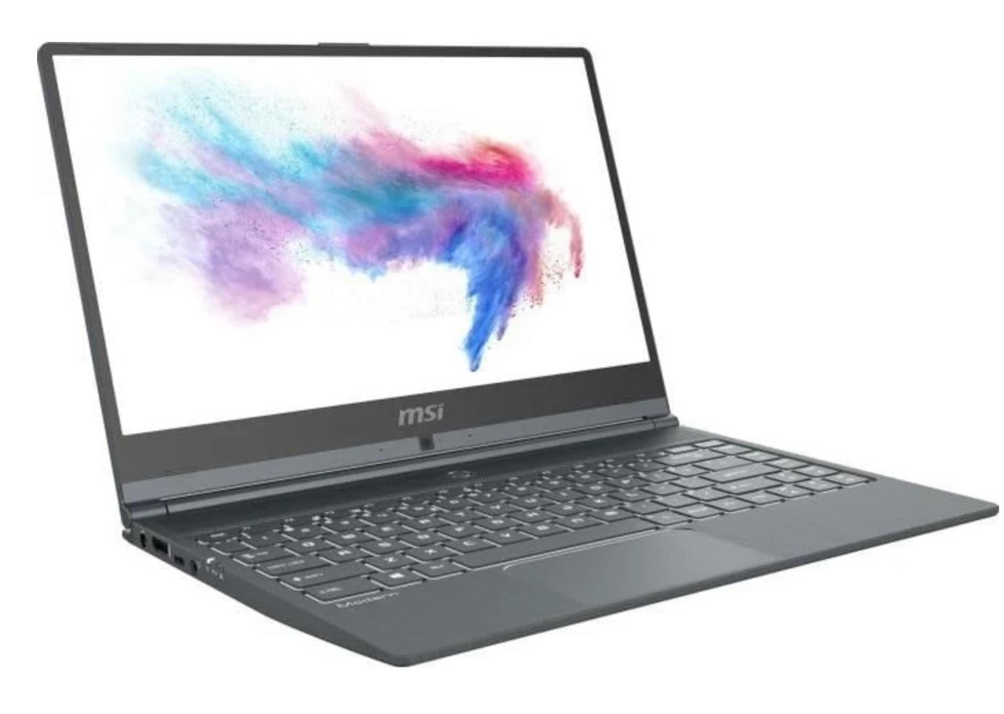 MSI Modern 14 A10M-669, Core™ i5-10210U 8 GB RAM Intel® UHD Graphics, 512 GB