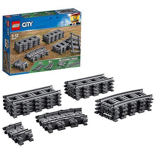 [Amazon Prime] LEGO® City 60205 Schienen und Kurven, 20 Teile