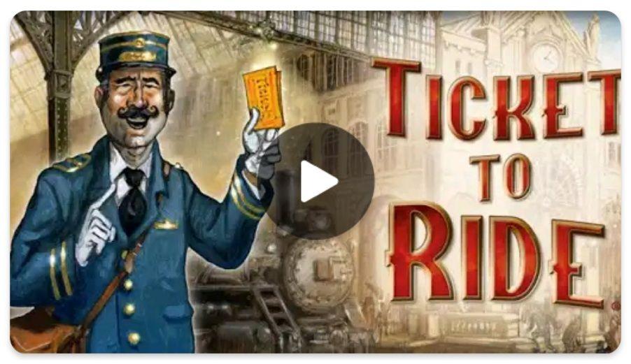 Ticket to Ride plus 13 weitere Spiele