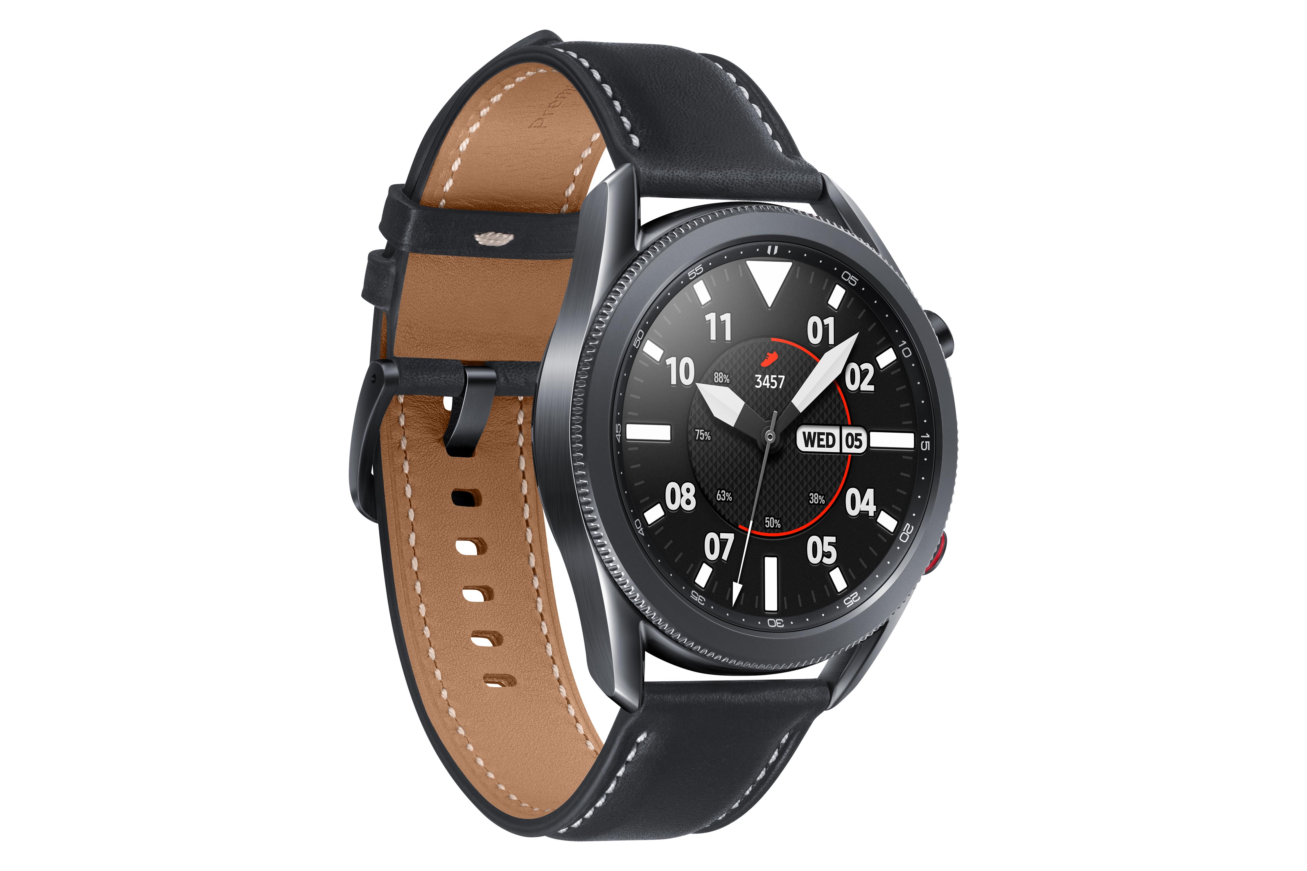 Samsung Galaxy Watch3 45mm Mystic Black für 229€ [0815.eu]