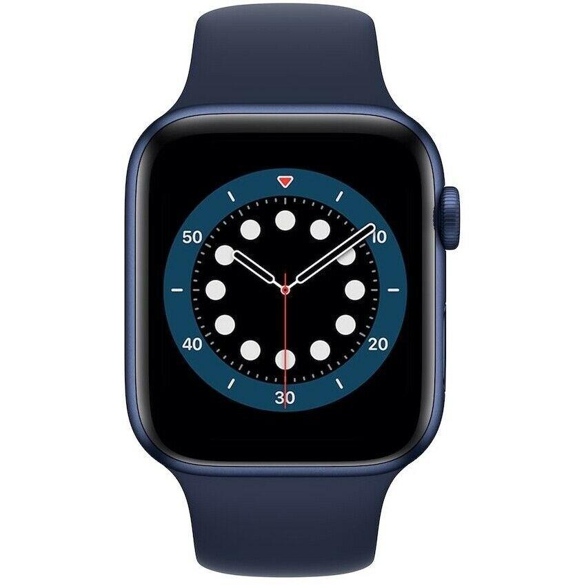 Apple Watch Series 6 40mm Aluminium blau (394x324, OLED, GPS, SpO2, 32GB, Apple Pay, 5ATM wasserdicht) [eBay plus]