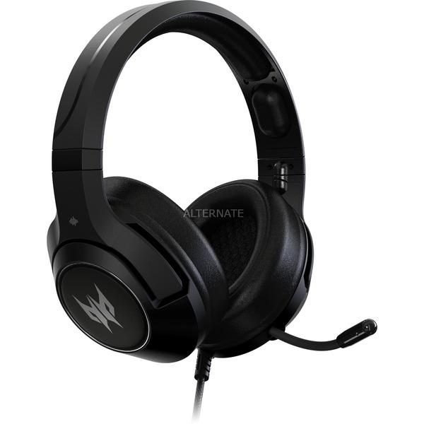 Acer Gaming-Headset Predator Galea 350 (7.1 Virtual Sound, Einklappbares Mikrofon mit Rauschunterdrückung) [ALTERNATE]