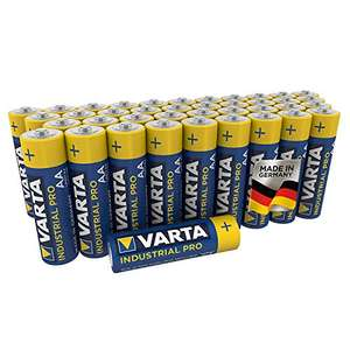 [Prime] Bestpreis! VARTA Industrial Pro Batterie AA Mignon Alkaline Batterien LR6-40er Pack Sparabo 7,57€