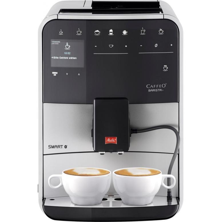 Melitta Caffeo Barista T Smart F831-101 Kaffeevollautomat, Connect App, One Touch, Silber [Neuware geöffnet / beschädigte Verpackung]