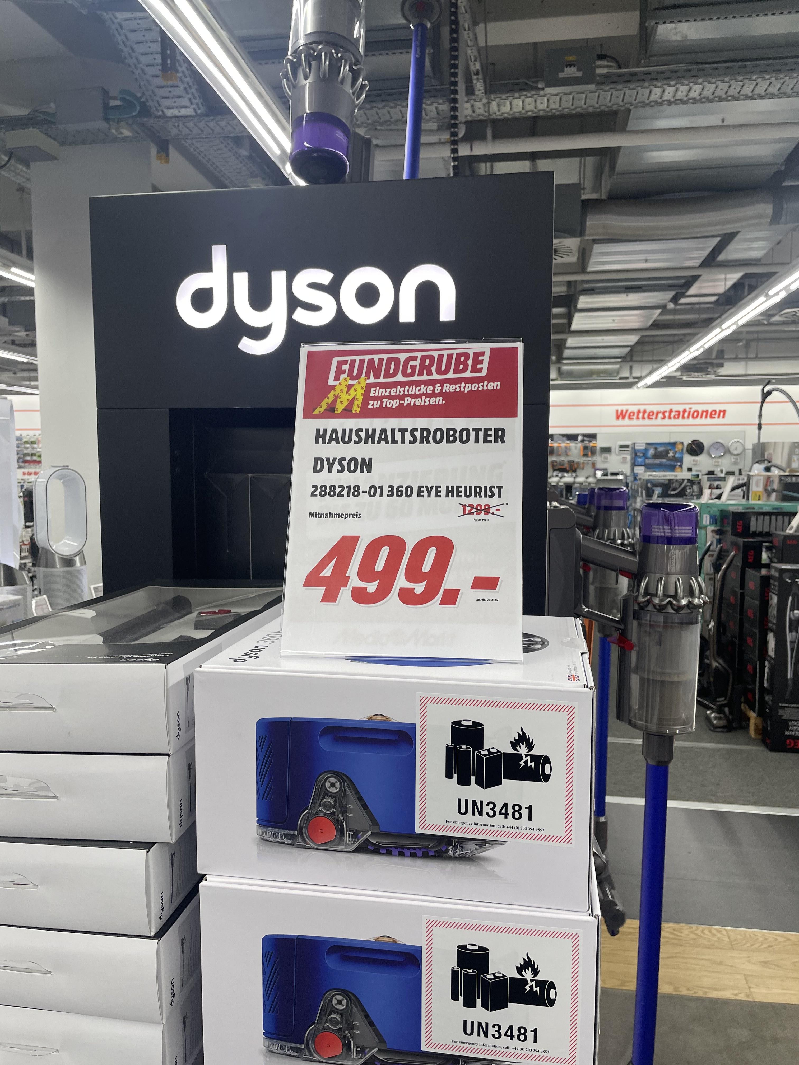 [Lokal MM Berlin Hsh] Dyson 360 Heurist Saugroboter