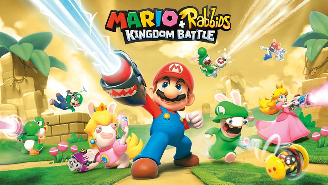 Mario + Rabbids Kingdom Battle Gold Edition Nintendo Switch (US eShop)
