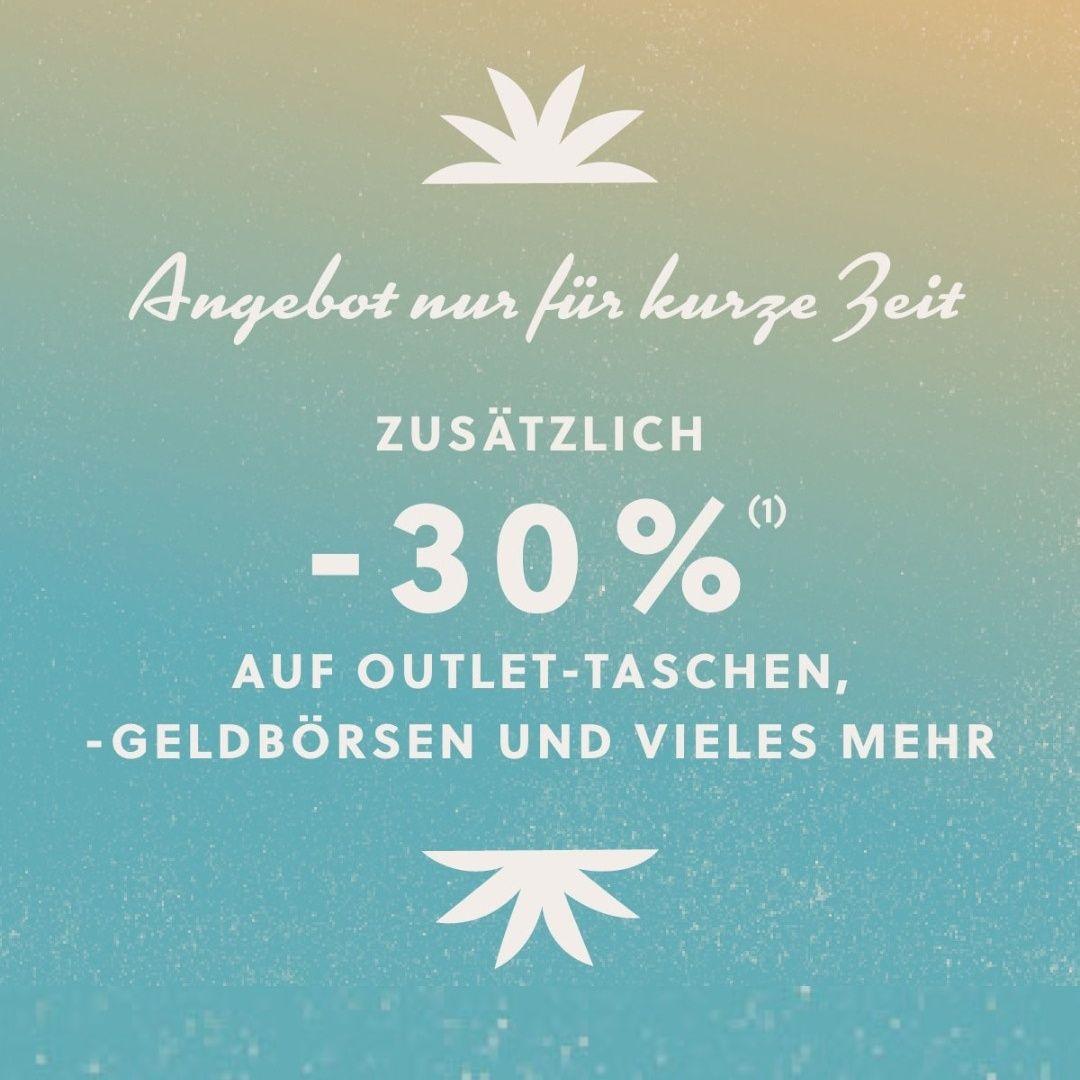 Fossil | Zusätzlich 30% auf Outlettaschen, -geldbörsen [+NL-Gutschein!]