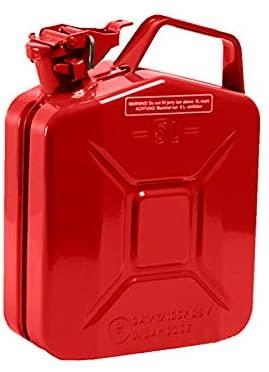 Benzinkanister aus Metall - 5 Stück je 10 l, kostenloser Versand mit Prime