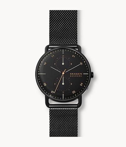 40% Rabatt auf ausgewählte Uhren bei Skagen + 15% Rabatt on top, z.B. Herrenuhr Horizont - Dual Timer - Milanaise