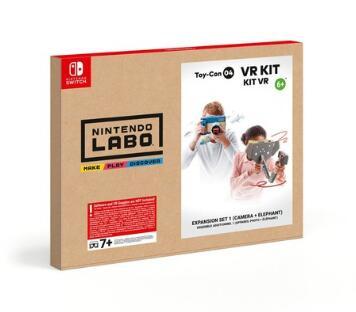 Nintendo Labo Toy-Con 04 - VR-Set - Erweiterungspaket 1 für 13,99€ (Expert)