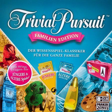 Trivial Pursuit Familien Edition ab 16,99€ inkl. Versand - Bestandskunden 19,99€ (Idealo 39,99€)