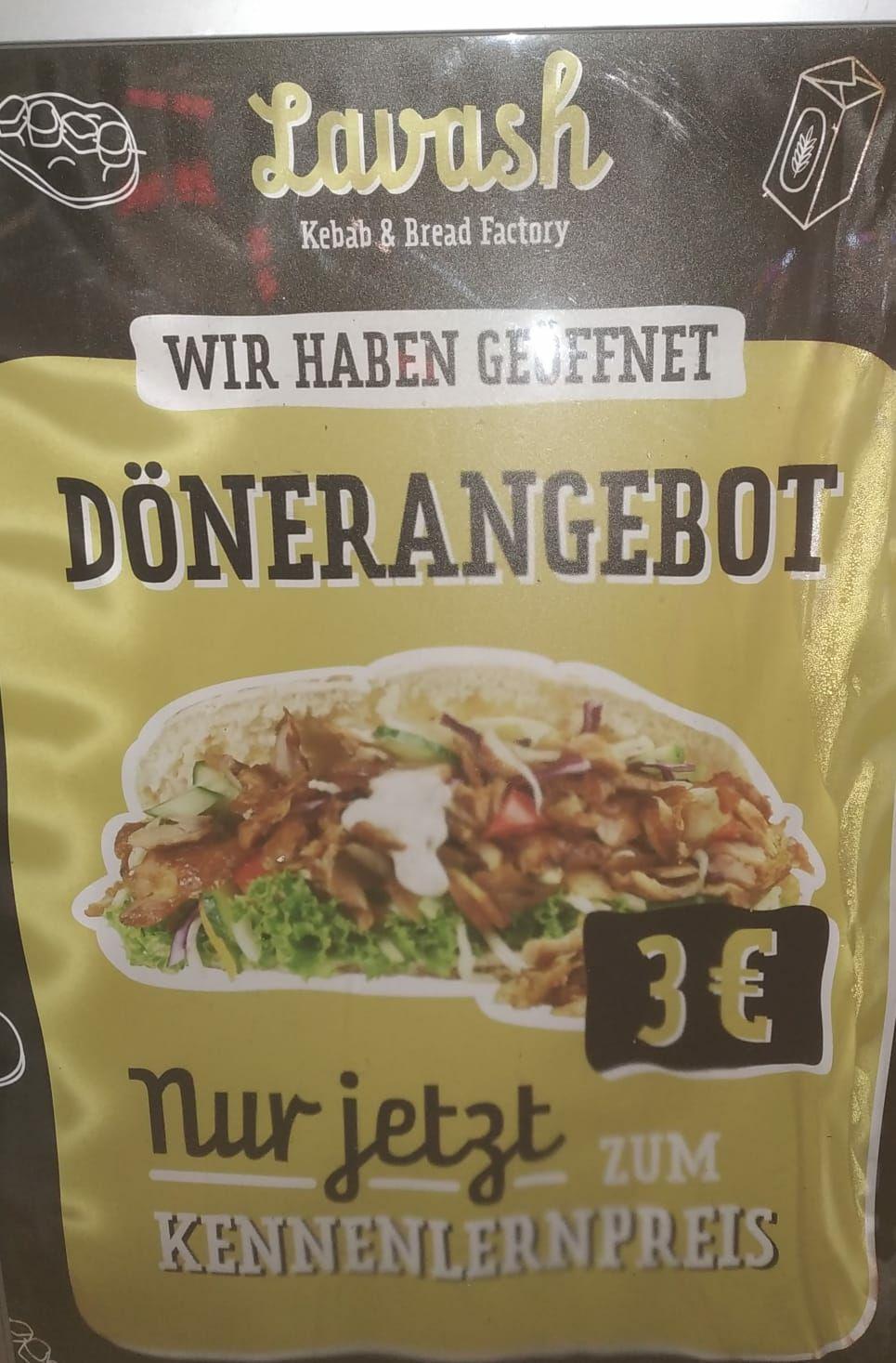 [LOKAL] Döner 3€ Lavash factory Lübeck