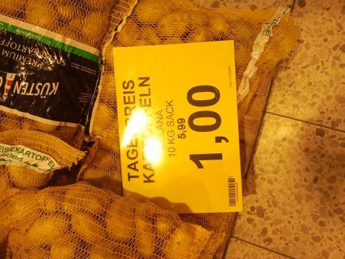 [Lokal] Famila Syke 10KG Kartoffeln verschiedene Sorten 1€