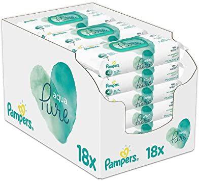 18x 48 Pampers Aqua Pure Feuchttücher [Prime Abo] personalisiert?