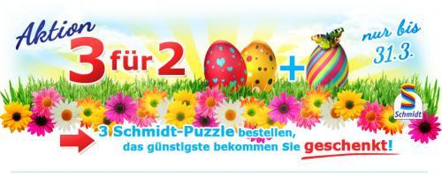 Nimm 3 zahl 2 Aktion für Schmidt-Puzzle