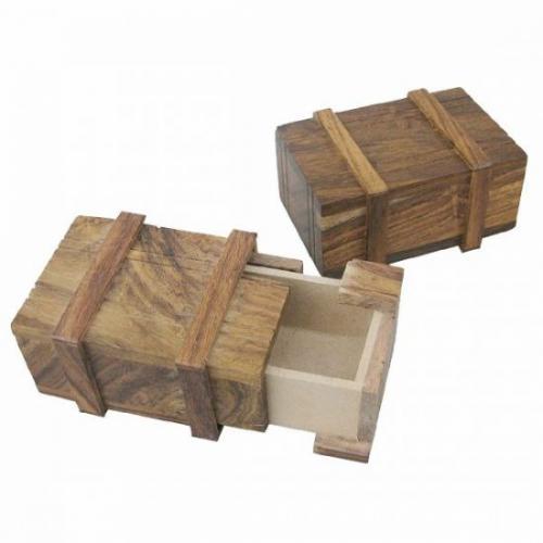 Geheime Schatzkiste aus Holz für rund 2,89€ @ ebay
