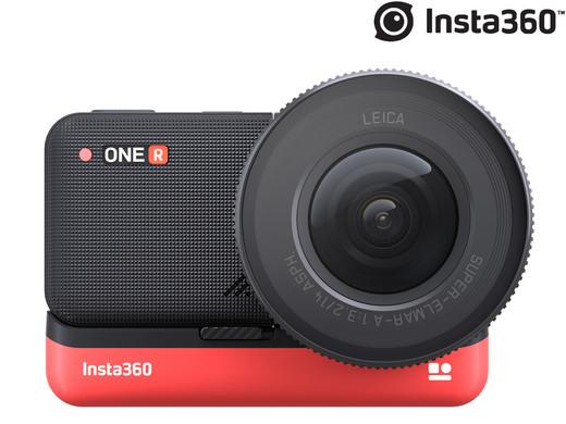 Insta360 Modulare Action-Cam ONE R 1-Zoll-Edition (Leica-Weitwinkel-Objektiv) [iBOOD]