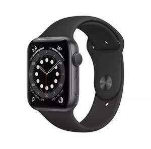 Apple Watch Series 6 GPS 44mm Aluminiumgehäuse Space Grau (eBay: cyberport)