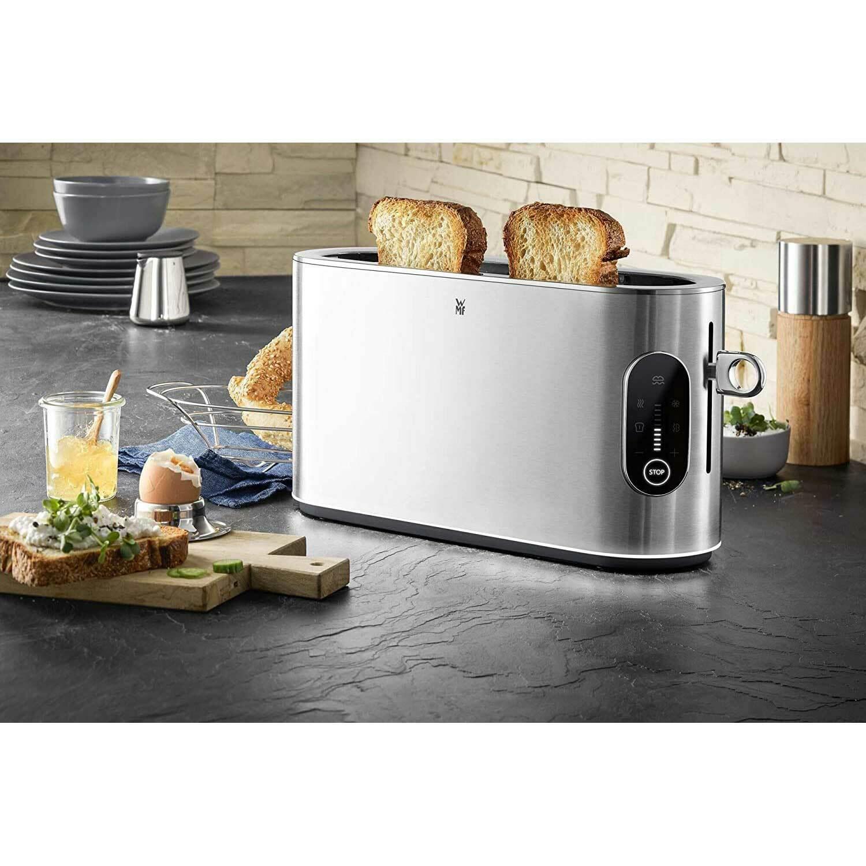 [ Ebay ] WMF Lumero Toaster - Langschlitz mit Brötchenaufsatz / Cromargan / 2 Scheiben