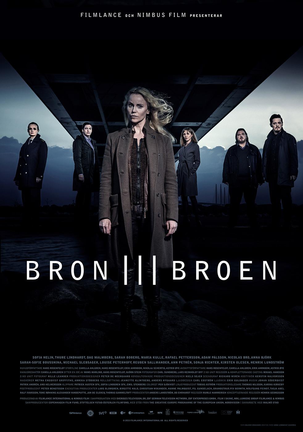 «Die Brücke - Transit in den Tod» (IMDb 8,6) Staffel 1+2 kostenlos im Stream [Arte Mediathek]