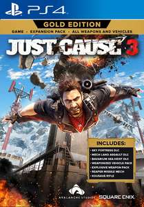 Just Cause 3 Gold Edition (PS4 & Xbox One) für 9,99€ inkl. Versand (Sqaure Enix Store)