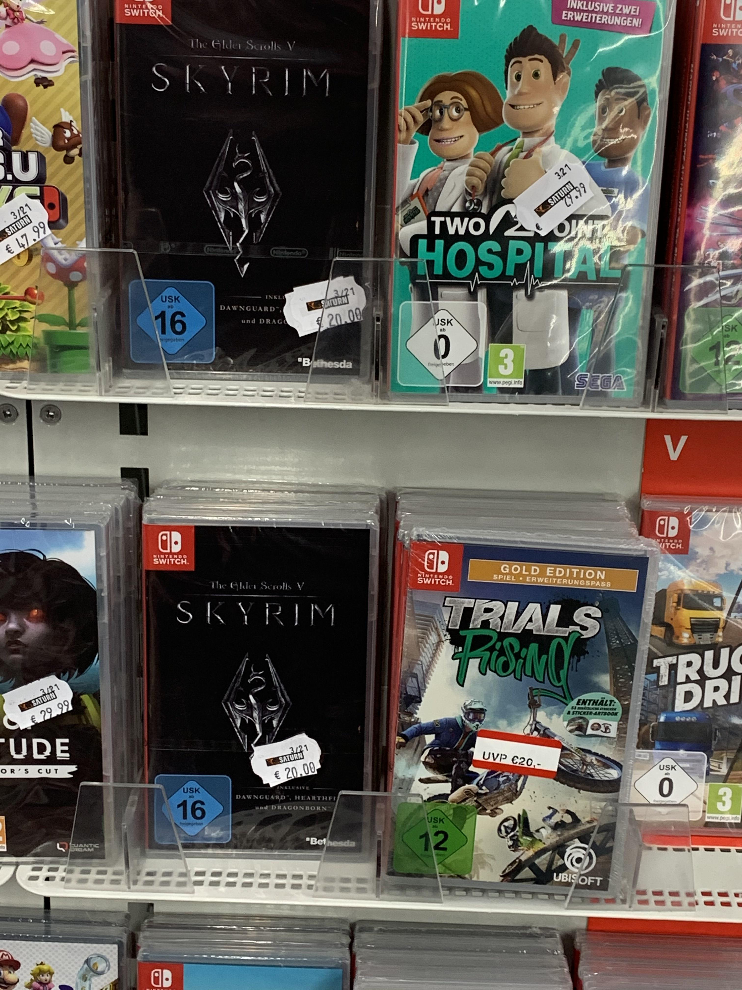 Skyrim für Nintendo Switch - Lokal Saturn Siegen