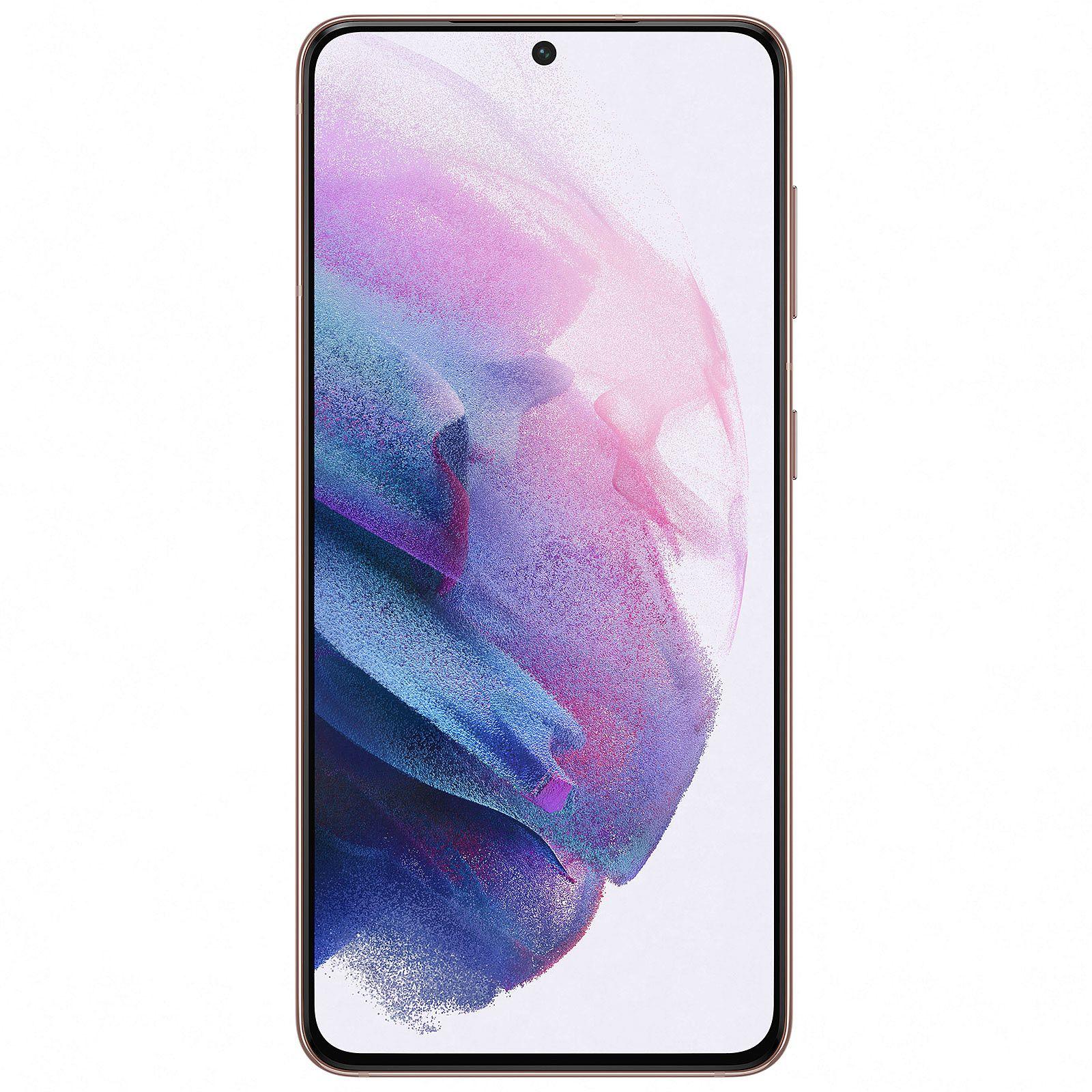 Samsung Galaxy S21 128/8GB (Snapdragon 888, 120Hz Amoled Display, 1300 Nits, 4000mAh Akku, 64MP Triple Kamera, IP68 Zertifiziert, 171 Gramm)