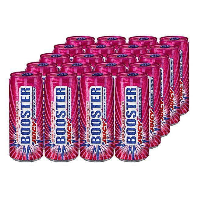 [Netto MD] 24 Dosen Booster Energy Drink versch. Sorten für 10€ (Stückpreis = ca. 0,41€)