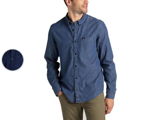 Lee Button-Down-Hemd Washed Blue für 17,95€ + 5,95€ VSK (100% Baumwolle, Regular Fit, Größe S - XL) [iBOOD]