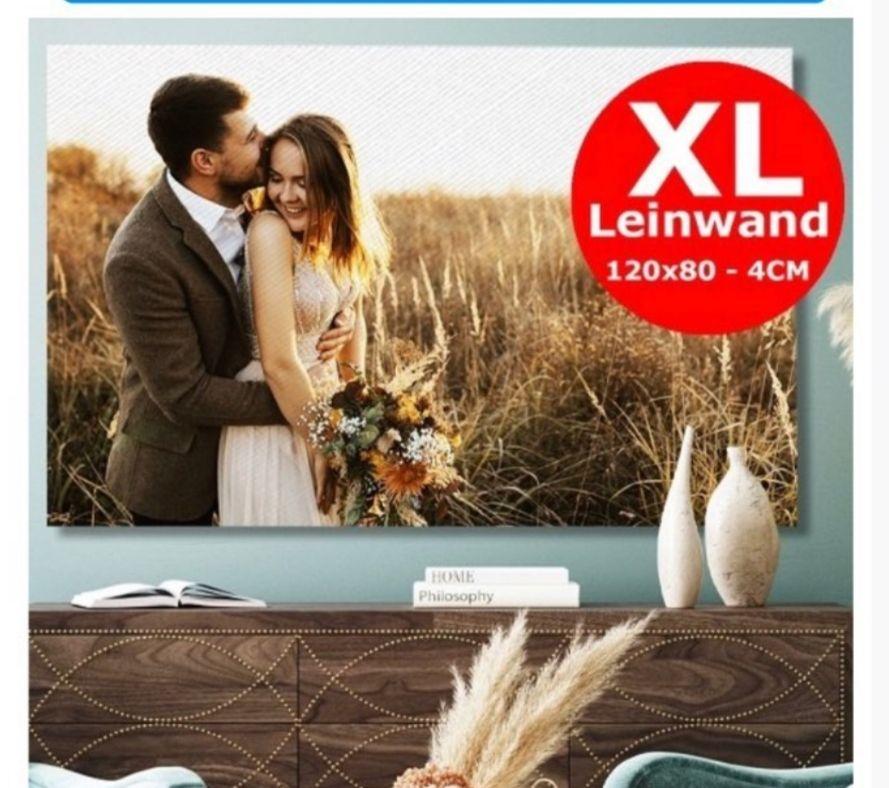 Lieblingsfoto.de: XL-Leinwand mit 120 x 80cm & 4cm Dicke Für 25.84 Inkl. Versand