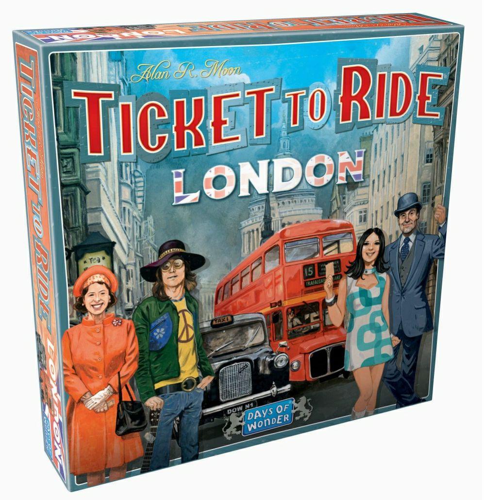 Zug um Zug London [Brettspiel] Ticket to Ride