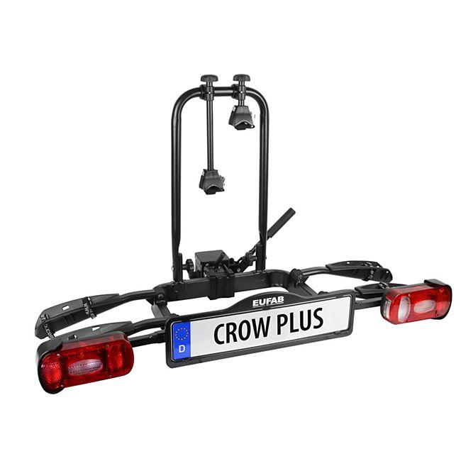 [ Netto-online.de ] Fahrradträger EUFAB Crow Plus für 2 Fahrräder / erweiterbar