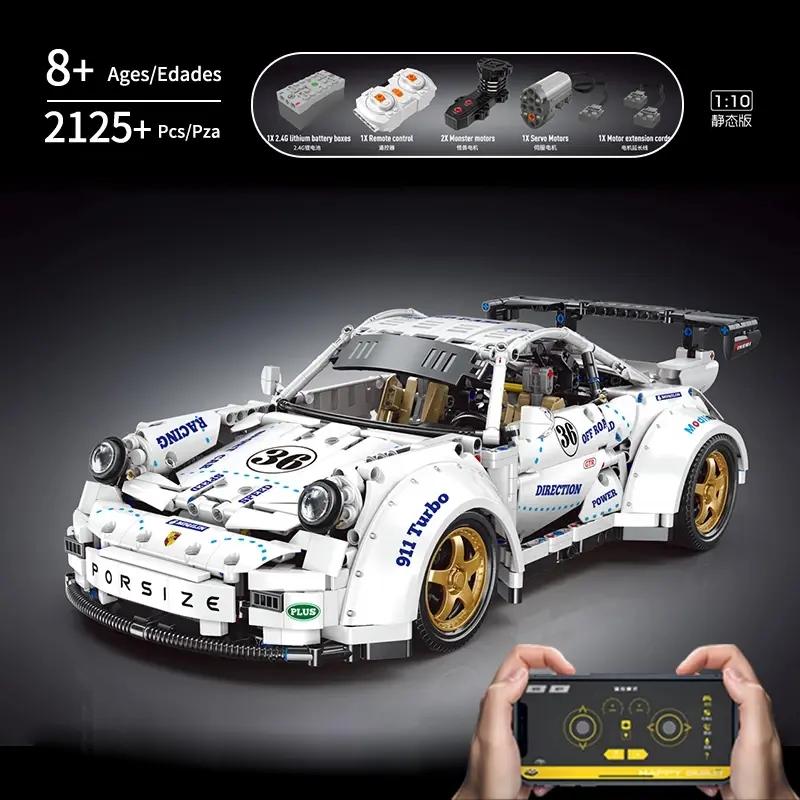 ShineYu YC-QC016 Porsche 911 Widebody German Supercar - Klemmbausteine 2125 Teile