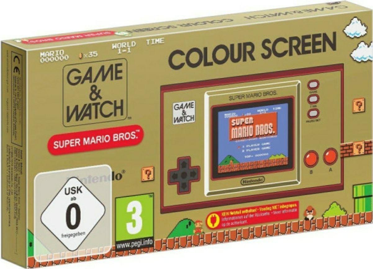 [Lokal MediaMarkt Münster] Nintendo Game & Watch: Super Mario Bros. Spielkonsole für 29€