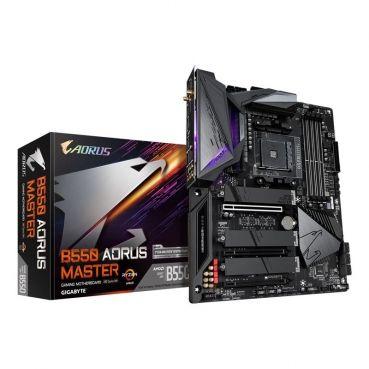 GIGABYTE B550 AORUS MASTER Mainboard - AMD B550 - AMD AM4 socket - DDR4 RAM - ATX [Hardwarearea]