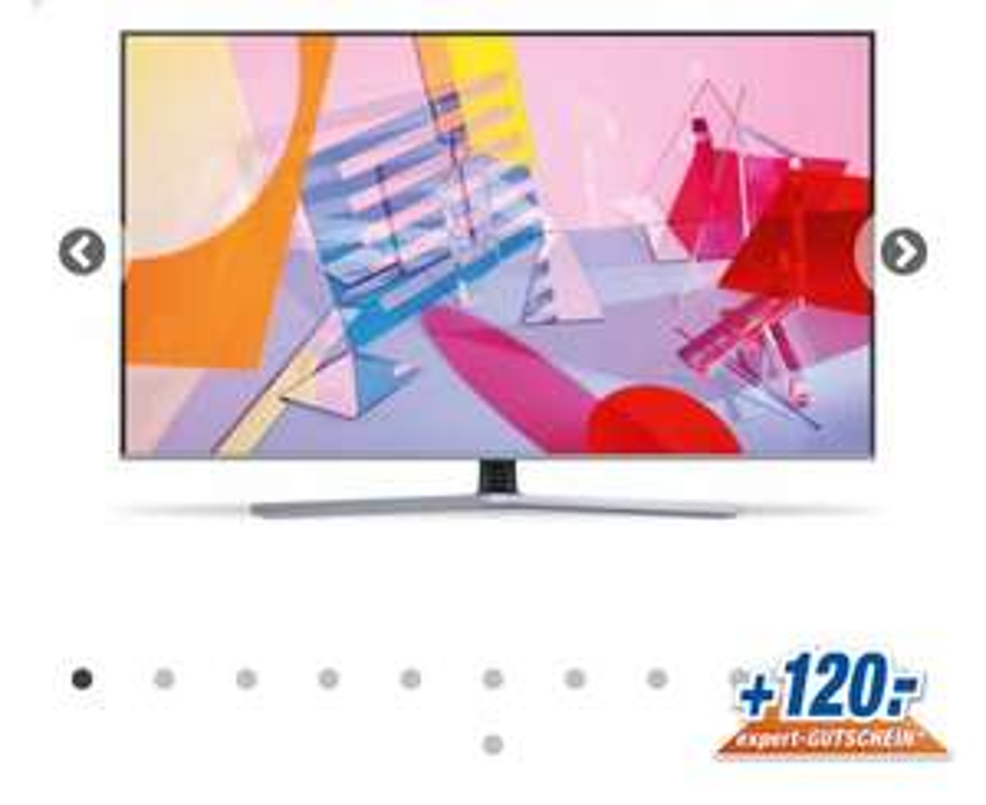 GQ65Q67TGU QLED Fernseher 165,1 cm (65 Zoll) EEK: A+ 4K Ultra HD (Titan)jetzt inkl. 120,-€ Gutscheincode*