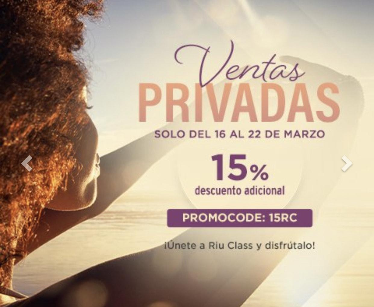 Riu Class Hotels - 15% Rabatt