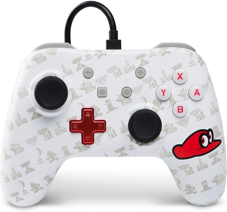 PowerA Nintendo Switch Wired ControllerSuper Mario Odyssey: Cappy Edition [Prime]
